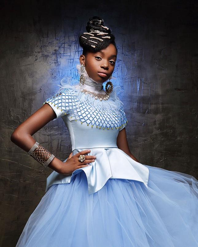 """Bộ ảnh tuyệt đẹp của các nàng công chúa Disney đến từ """"vương quốc Wakanda"""" ảnh 11"""