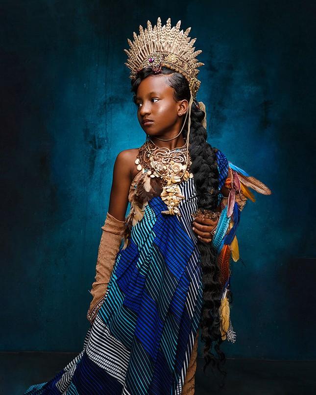 """Bộ ảnh tuyệt đẹp của các nàng công chúa Disney đến từ """"vương quốc Wakanda"""" ảnh 12"""