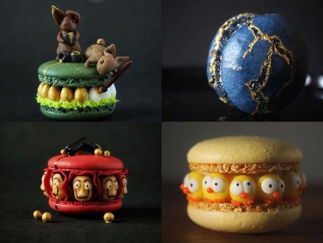 Những chiếc bánh Macaron siêu sang chảnh, đẹp đến mức không ai nỡ ăn ảnh 4