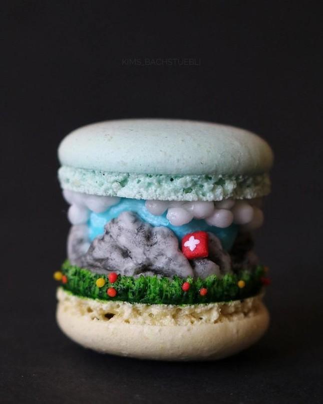 Những chiếc bánh Macaron siêu sang chảnh, đẹp đến mức không ai nỡ ăn ảnh 7