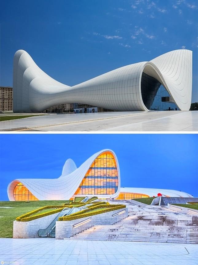 Những tòa nhà thiết kế dị nhất thế giới mà ai cũng ước ao được một lần check-in ảnh 5