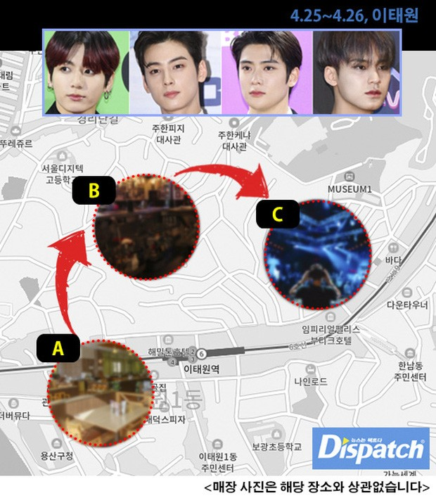 Sau khi bị Dispatch phanh phui, cả bốn công ty giải trí đều lên tiếng xin lỗi hộ idol ảnh 1
