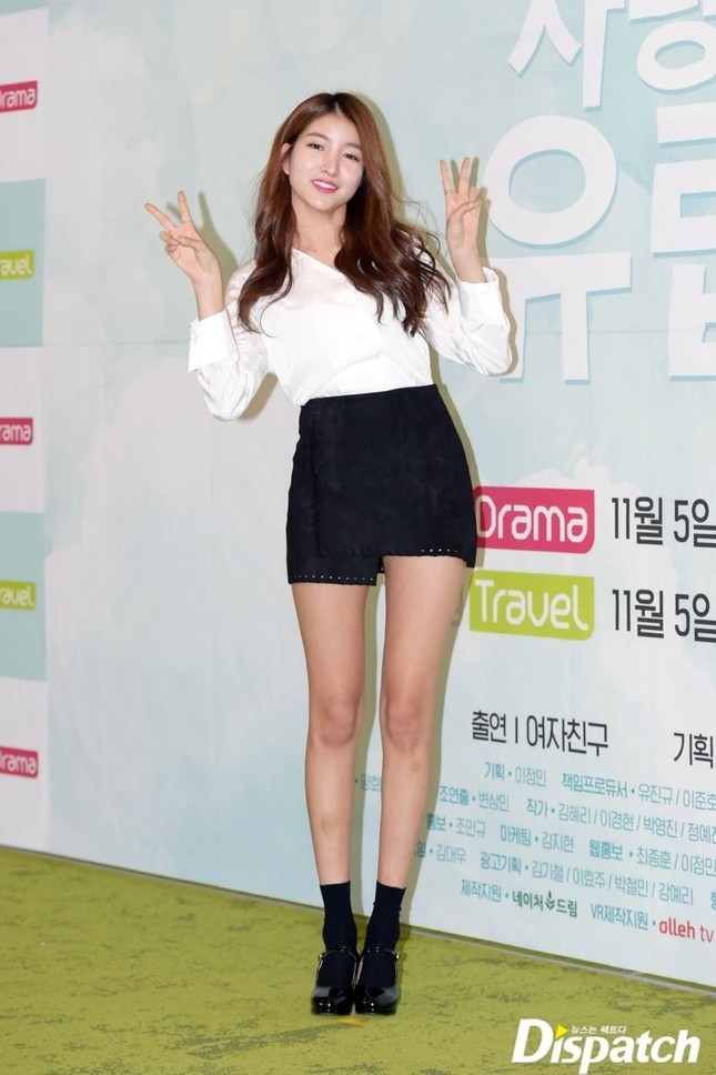 Thêm nữ idol K-Pop gây bối rối về chiều cao thực: Cao quá nên phải hạ bớt số đo? ảnh 1