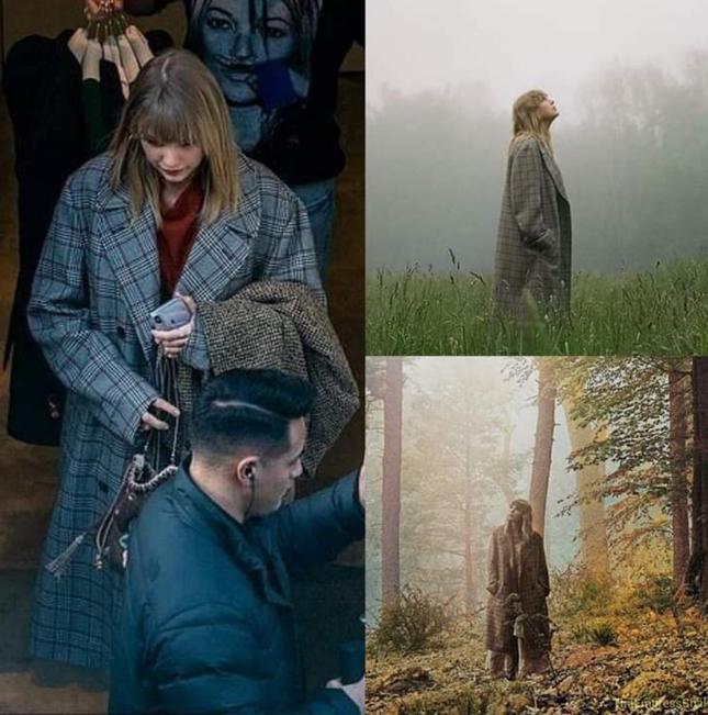 """Có hay không chuyện album """"folklore"""" của Taylor Swift sao chép hình ảnh của Đặng Tử Kỳ? ảnh 4"""