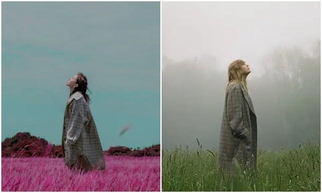 """Có hay không chuyện album """"folklore"""" của Taylor Swift sao chép hình ảnh của Đặng Tử Kỳ? ảnh 2"""