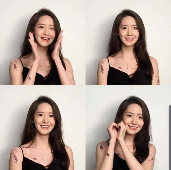 Làm nữ thần K-Pop quá lâu, Yoona (SNSD) chỉ khoe hình xăm dán cũng không được chấp nhận ảnh 3