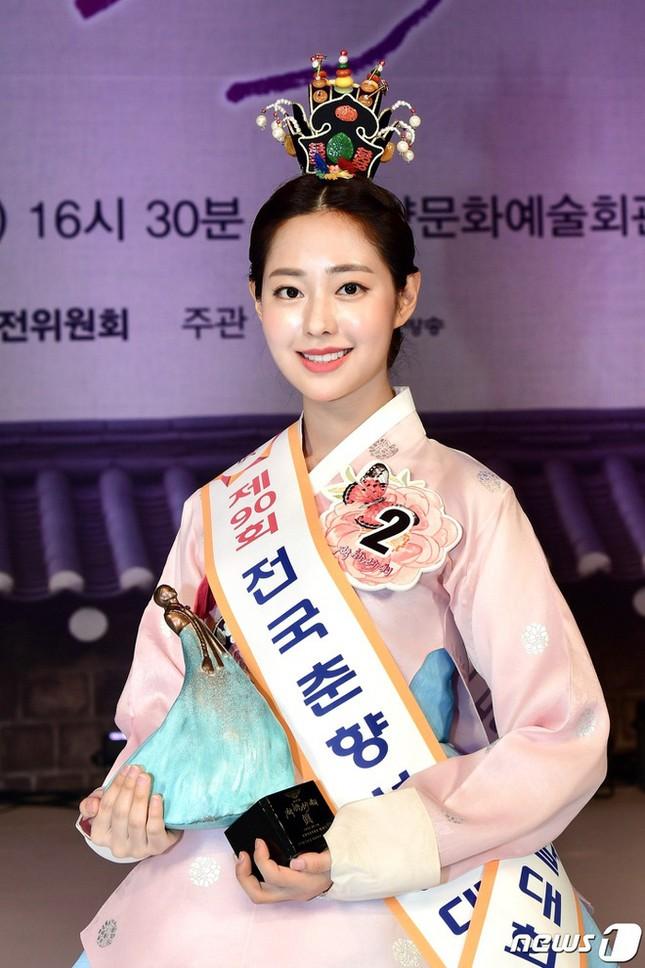 Ngất ngây với nhan sắc Hoa hậu truyền thống Hàn Quốc: Xinh như idol, giỏi như diễn viên ảnh 1