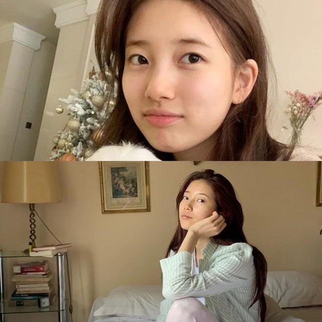 Đỉnh cao mặt mộc chính là Suzy: Ảnh ngái ngủ phụng phịu vẫn được khen đẹp như nàng thơ ảnh 2