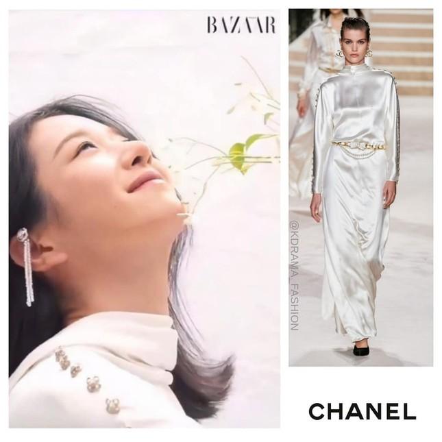 Đụng hàng váy Chanel với Seo Ye Ji nhưng Tăng Thanh Hà lại tỏa sáng theo cách rất riêng ảnh 3