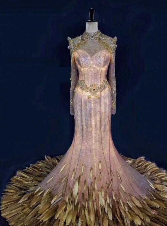 Chưa cần biết ai diện, váy của Nữ thần Kim Ưng năm 2020 đã bị trừ điểm vì một thứ ảnh 3