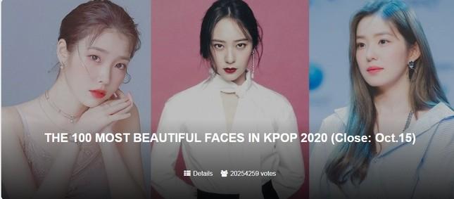 """Bất ngờ với top các nữ idol được fan quốc tế khen là """"xinh nhất K-Pop hiện nay"""" ảnh 1"""