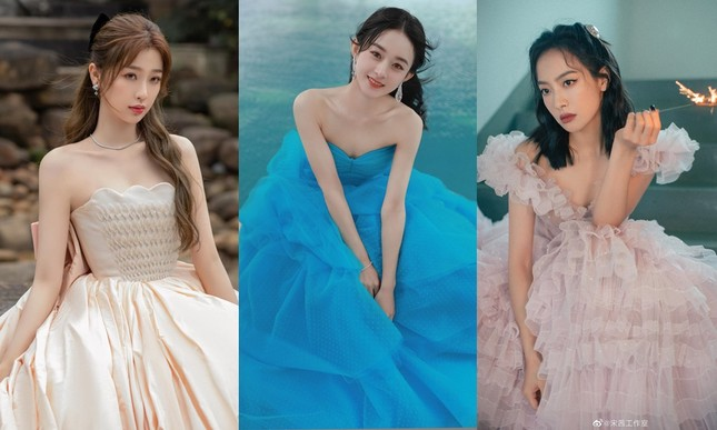 Ngất ngây với dàn mỹ nhân C-Biz ở giải Kim Ưng: Ai cũng lộng lẫy như công chúa ảnh 1