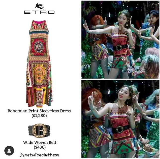 Cũng biến váy thành áo mà stylist của TWICE lại bị chê cắt xẻ đồ hiệu gây khó hiểu, vô lý ảnh 7