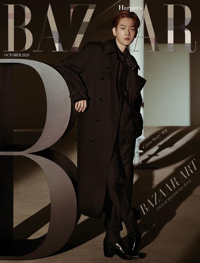 Giữa rừng mỹ nam K-Pop, Baekhyun (EXO) vẫn là chàng trai vạn người mê của các nhãn hàng ảnh 9