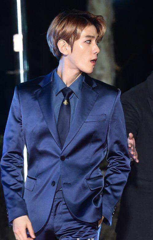 Giữa rừng mỹ nam K-Pop, Baekhyun (EXO) vẫn là chàng trai vạn người mê của các nhãn hàng ảnh 1