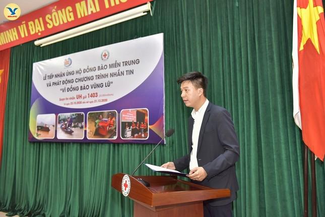 Đại diện tập đoàn MED GROUP trao 1,5 tỷ đồng tới Hội Chữ Thập đỏ Việt Nam ảnh 2