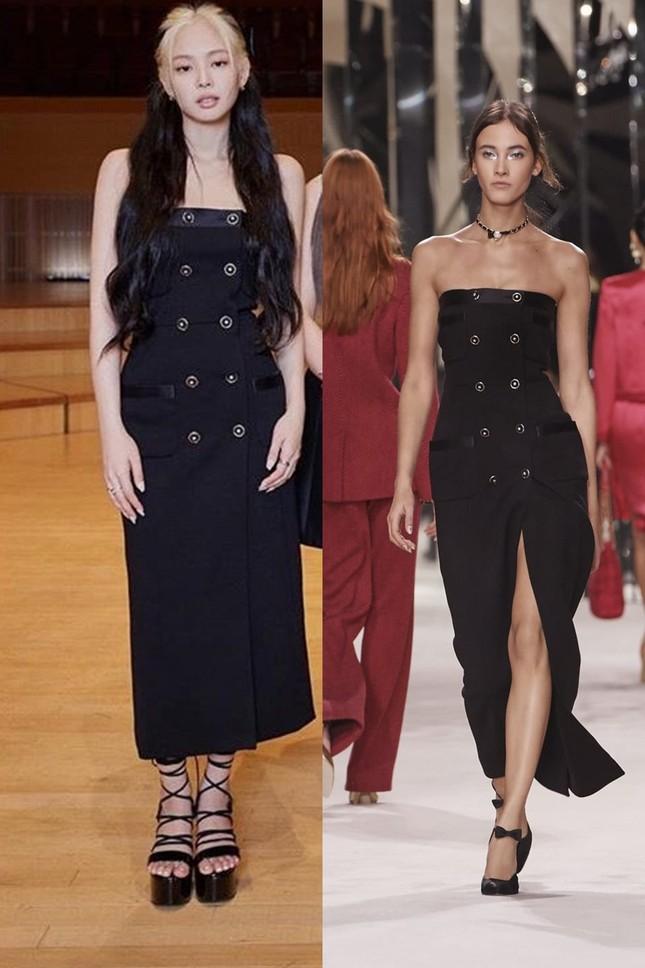 Hiếm hoi lắm mới thấy Jennie (BLACKPINK) chịu lép vế người khác khi đụng hàng đồ Chanel ảnh 3