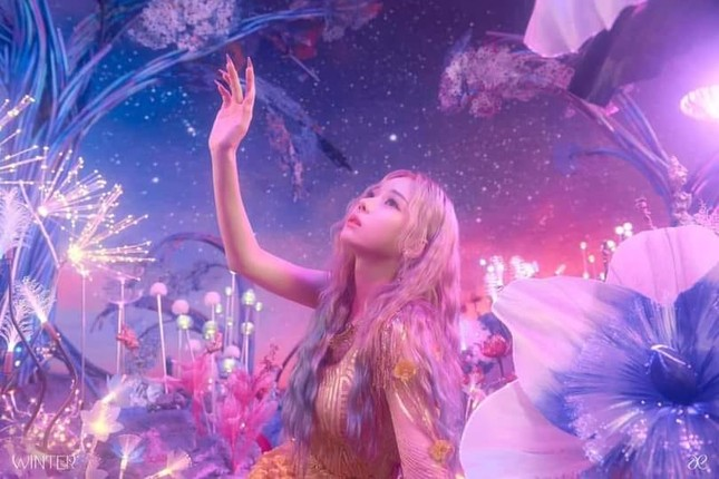 Chưa debut nhưng diện mạo xuất thần của Winter (aespa) đã được netizen miệt mài phân tích ảnh 2