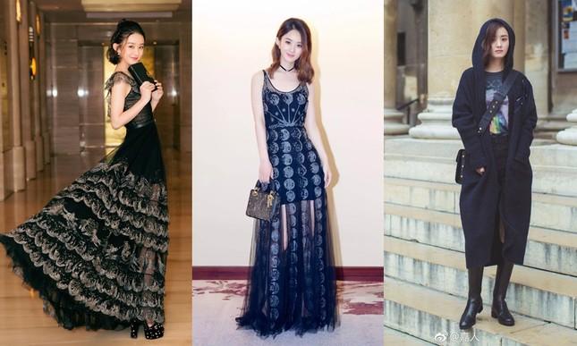 Triệu Lệ Dĩnh khiến fan lo lắng vì giảm cân quá đà, lộ vẻ tiều tụy dù diện đồ Dior ảnh 2