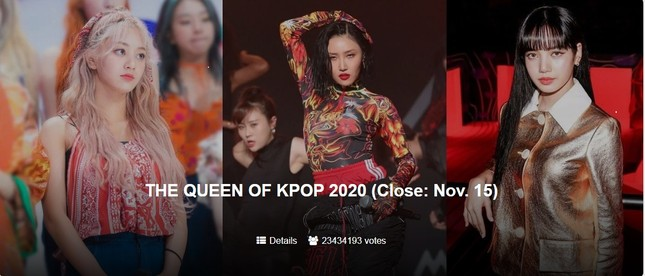 Đi tìm Nữ hoàng K-Pop 2020: BLACKPINK chiến thắng ngoạn mục cỡ nào mà khiến fan sững sờ? ảnh 1