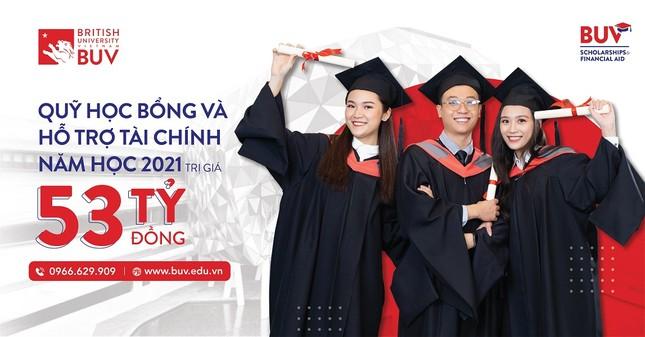 Đại học Anh Quốc Việt Nam nâng giá trị quỹ học bổng và hỗ trợ tài chính lên 53 tỷ đồng ảnh 1