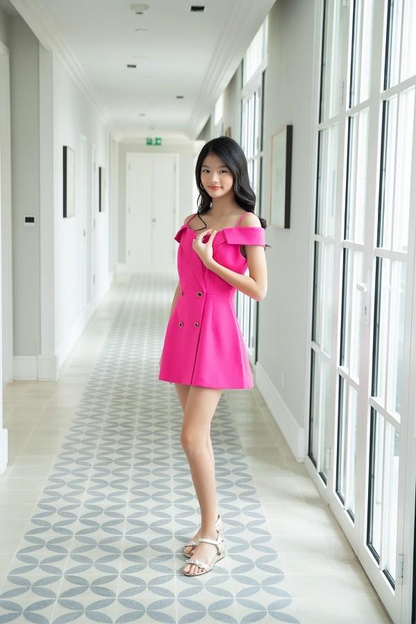 """12 tuổi đã xinh đẹp xuất sắc, con gái Trương Ngọc Ánh đúng là """"Hoa hậu tương lai""""! ảnh 4"""