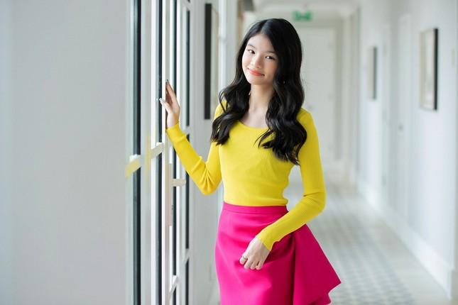 """12 tuổi đã xinh đẹp xuất sắc, con gái Trương Ngọc Ánh đúng là """"Hoa hậu tương lai""""! ảnh 5"""