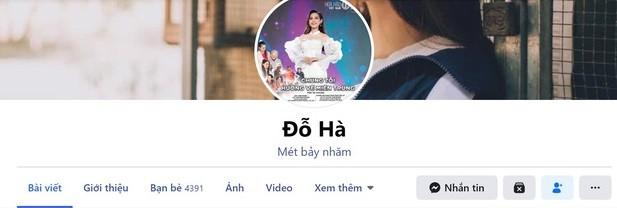 """Sau khi tài khoản Facebook """"bay màu"""", Hoa hậu Việt Nam Đỗ Thị Hà lại đánh rơi điện thoại ảnh 3"""