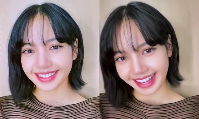 Lisa bỗng dưng chuyển sang tóc mái thưa: Trước đã xinh nay còn đẹp hơn bội phần ảnh 5