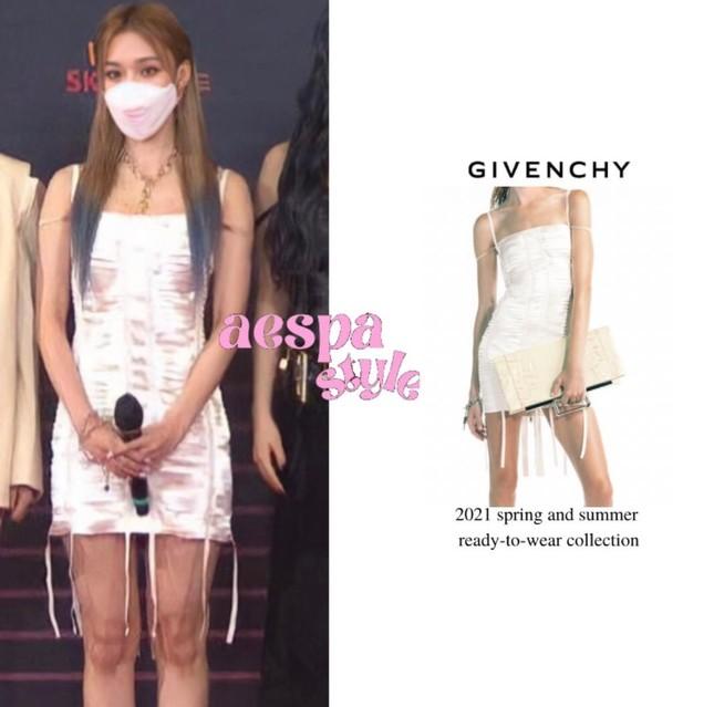 Vừa mới chê aespa mặc xấu, netizen càng sốc hơn khi biết xuất xứ trang phục của nhóm ảnh 7