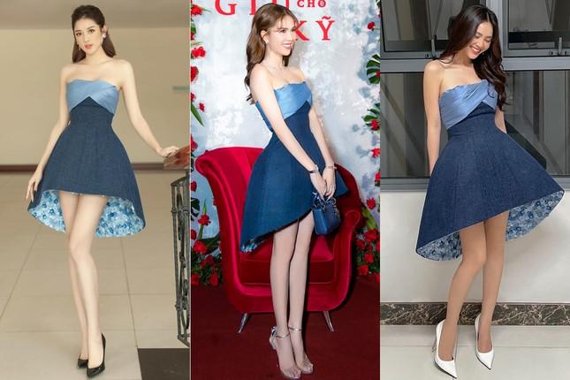 Chiếc váy thần thánh của NTK Lê Thanh Hòa: Cô gái nào mặc cũng hóa chân dài eo thon ảnh 7