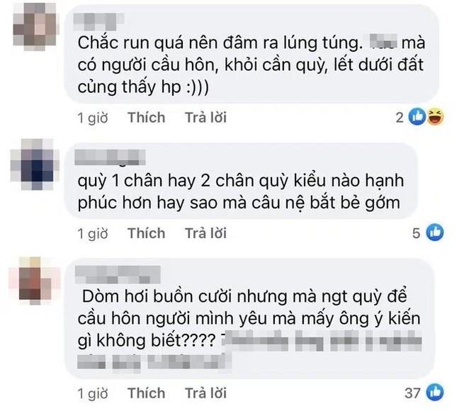 """Khoảnh khắc cầu hôn của Quý Bình bất ngờ bị netizen """"mổ xẻ"""" vì một hành động sai sai ảnh 8"""