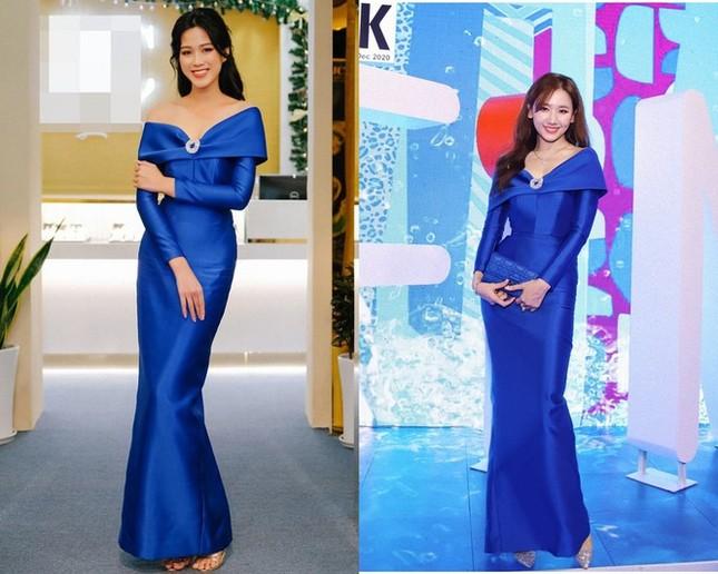 Bí quyết nào giúp Hoa hậu Đỗ Thị Hà, Tiểu Vy, Mỹ Linh chẳng ngại mặc đụng hàng? ảnh 1