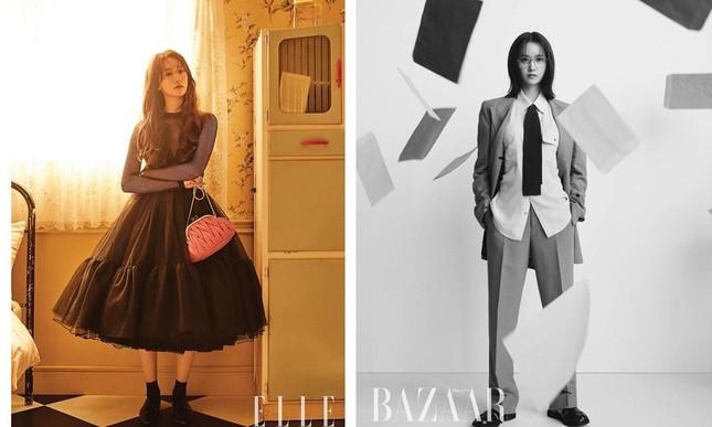 """Đỉnh như Lisa: Một set đồ mà đụng hàng tới hai """"tường thành sắc đẹp"""" Song Hye Kyo, Yoona ảnh 1"""