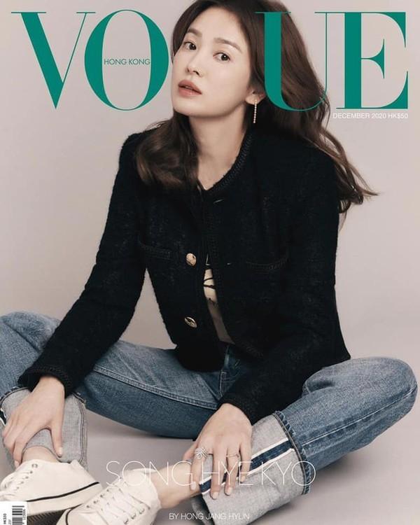 """Đỉnh như Lisa: Một set đồ mà đụng hàng tới hai """"tường thành sắc đẹp"""" Song Hye Kyo, Yoona ảnh 5"""