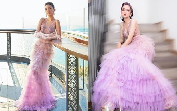 Bí quyết nào giúp Hoa hậu Đỗ Thị Hà, Tiểu Vy, Mỹ Linh chẳng ngại mặc đụng hàng? ảnh 4