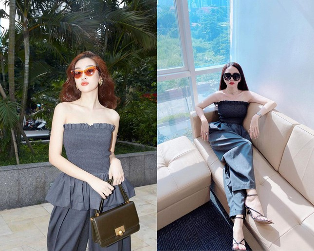 Bí quyết nào giúp Hoa hậu Đỗ Thị Hà, Tiểu Vy, Mỹ Linh chẳng ngại mặc đụng hàng? ảnh 3