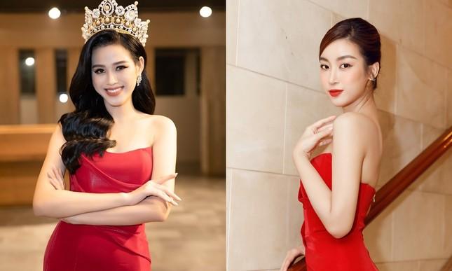 Lần đầu tiên hai Hoa hậu Đỗ Thị Hà và Mỹ Linh đụng hàng: Xinh đẹp bất phân thắng bại ảnh 7