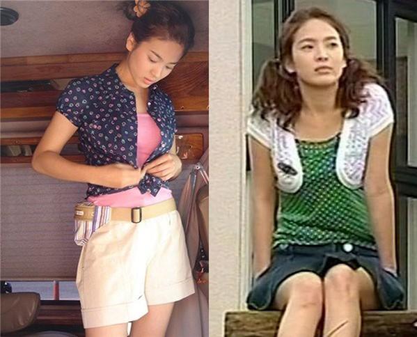 BLACKPINK và nhiều nữ idol rủ nhau mặc theo mốt Song Hye Kyo khởi xướng từ 16 năm trước ảnh 1