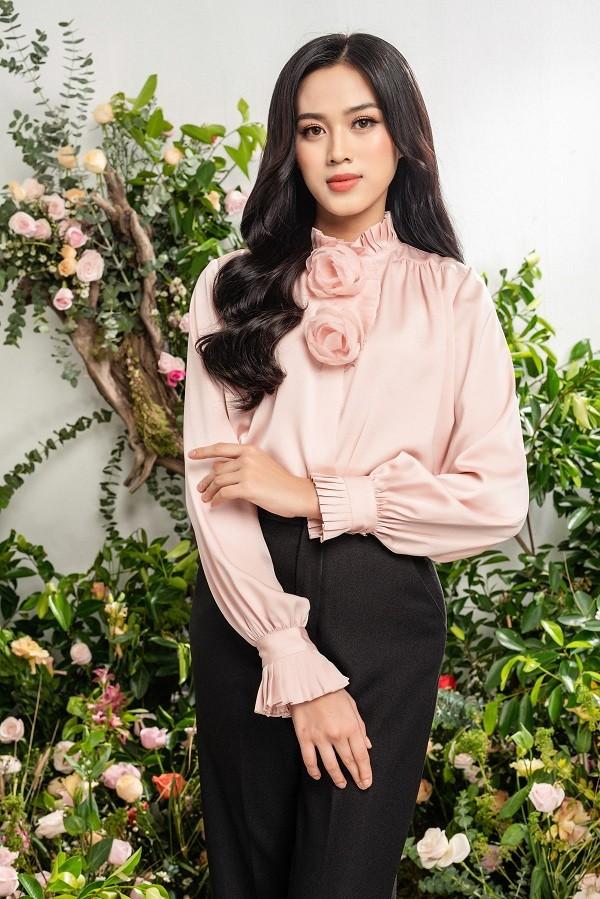 Tạm biệt hình ảnh lộng lẫy sang chảnh, Hoa hậu Đỗ Thị Hà ngọt ngào như nàng tiên hoa ảnh 6