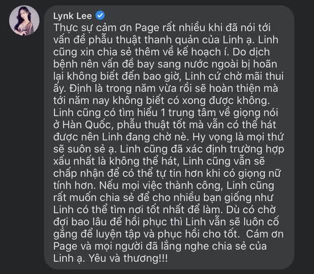 Lynk Lee chấp nhận mạo hiểm phẫu thuật thêm lần nữa để được là con gái trọn vẹn ảnh 3