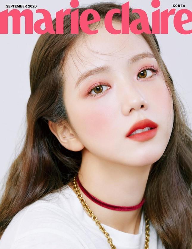 """Nhìn lại """"lục đại tạp chí"""" mà Jisoo đã mở khóa thành công: Ngày càng lên hương nhan sắc ảnh 10"""