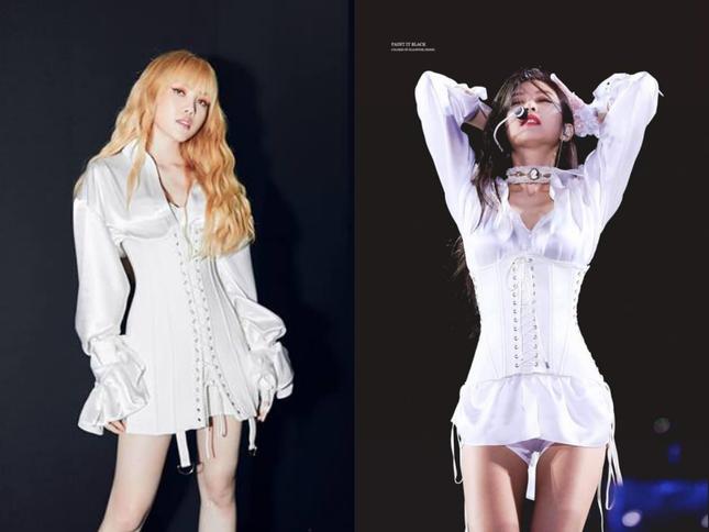 Đắng như Thiều Bảo Trâm: Vừa khoe dáng đã bị nghi mặc đồ nhái của váy Jennie diện ảnh 7