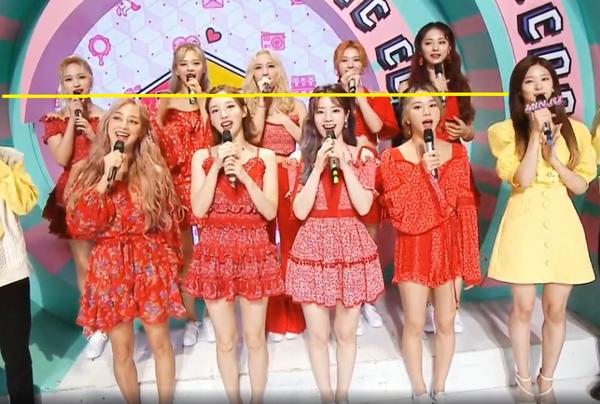 Netizen Hàn đúng hay sai khi nghi ngờ chiều cao của TWICE chỉ từ một bức ảnh? ảnh 2