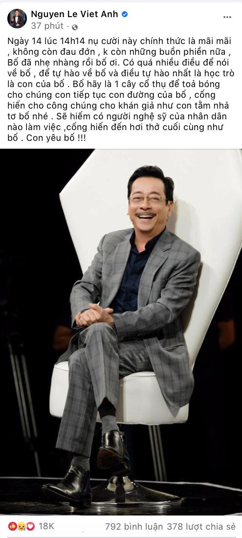 """Showbiz Việt và khán giả bàng hoàng khi biết tin """"Người Phán Xử"""" Hoàng Dũng qua đời ảnh 9"""