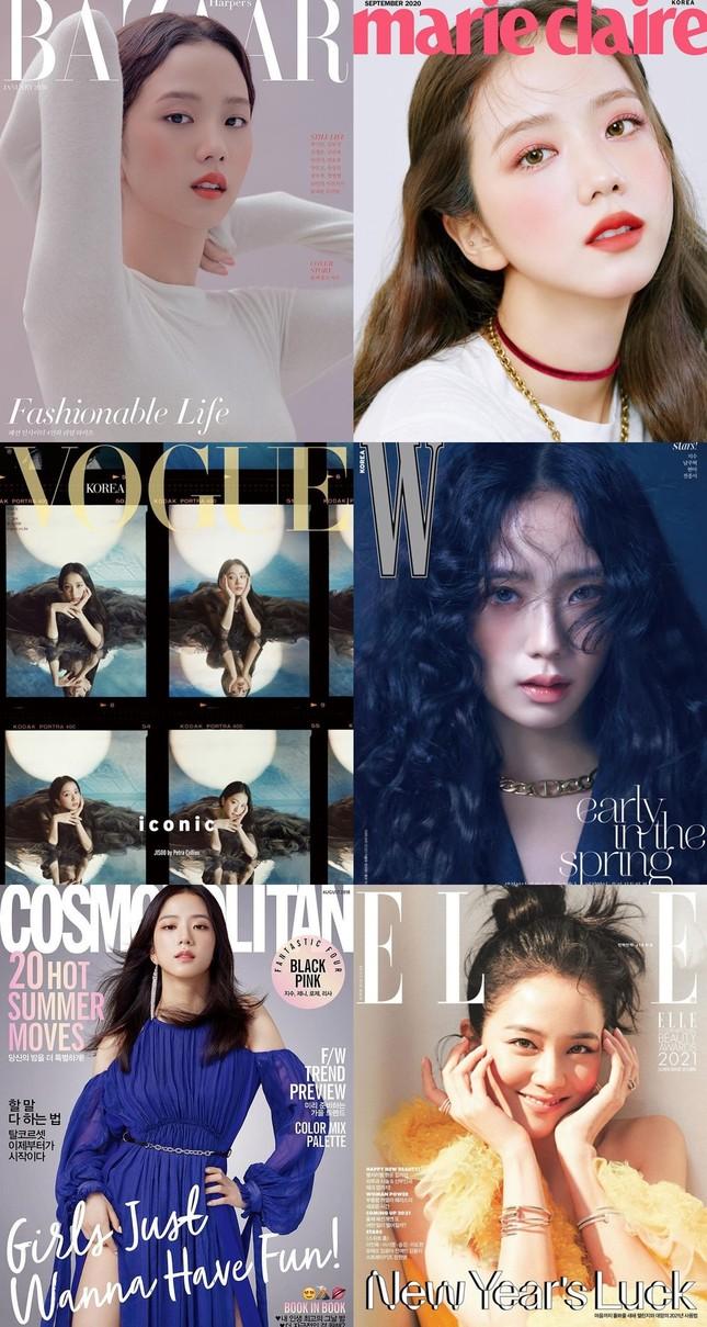 """Đặt 3 nữ idol mở khóa """"lục đại tạp chí"""" lên bàn cân: BLACKPINK có vượt qua được Suzy? ảnh 4"""