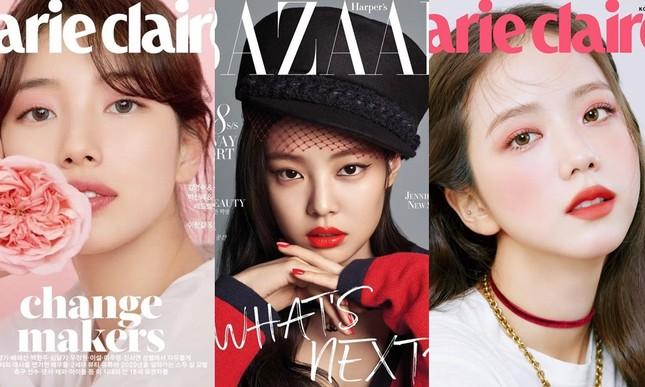 """Đặt 3 nữ idol mở khóa """"lục đại tạp chí"""" lên bàn cân: BLACKPINK có vượt qua được Suzy? ảnh 1"""