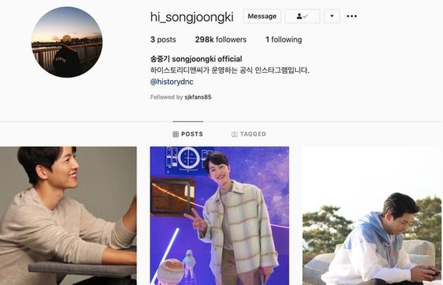 Song Joong Ki làm điều không ai ngờ trên mạng xã hội, liệu có liên quan gì tới vợ cũ? ảnh 2