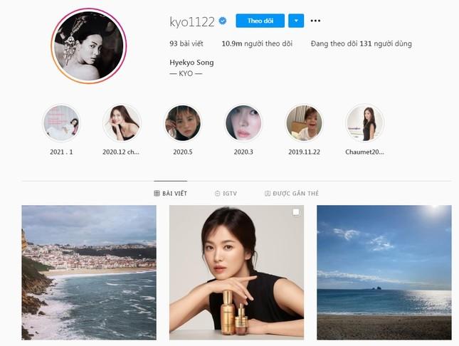 Song Joong Ki làm điều không ai ngờ trên mạng xã hội, liệu có liên quan gì tới vợ cũ? ảnh 3
