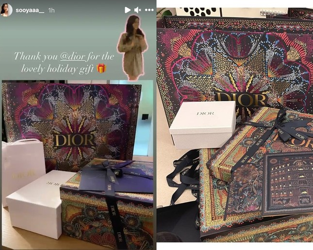 """Đọ quà tặng Dior gửi tới hai """"nàng thơ"""" Suzy và Jisoo BLACKPINK: Ai nhận được đồ """"xịn"""" hơn? ảnh 5"""